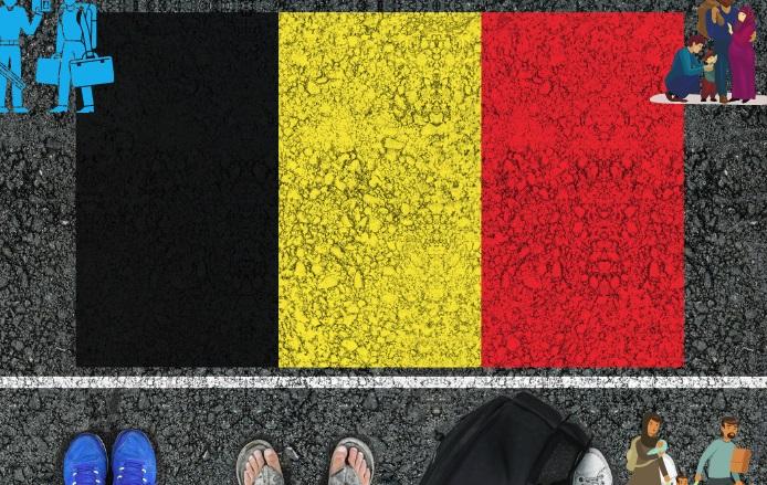 اللجوء في بلجيكا للسوريين