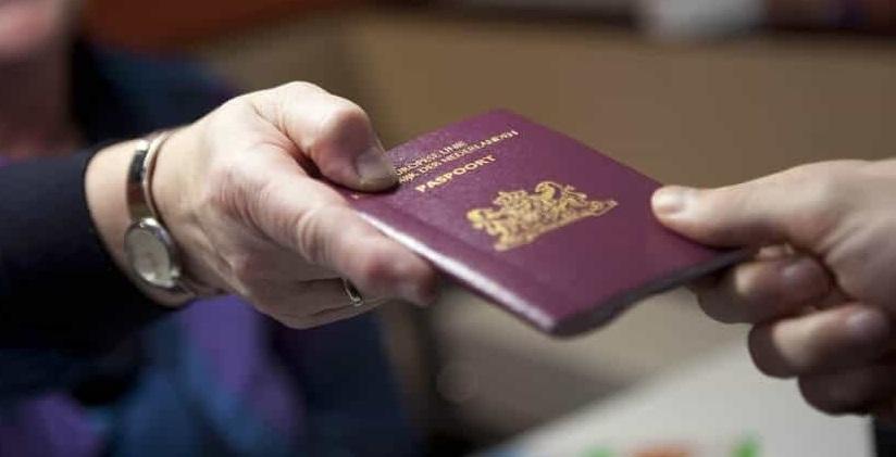 الجواز الهولندي
