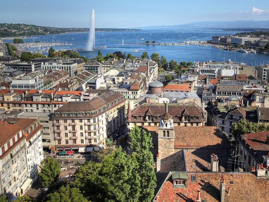 جنيف عاصمة أي دولة