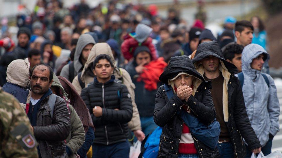تقديم اللجوء إلى النمسا
