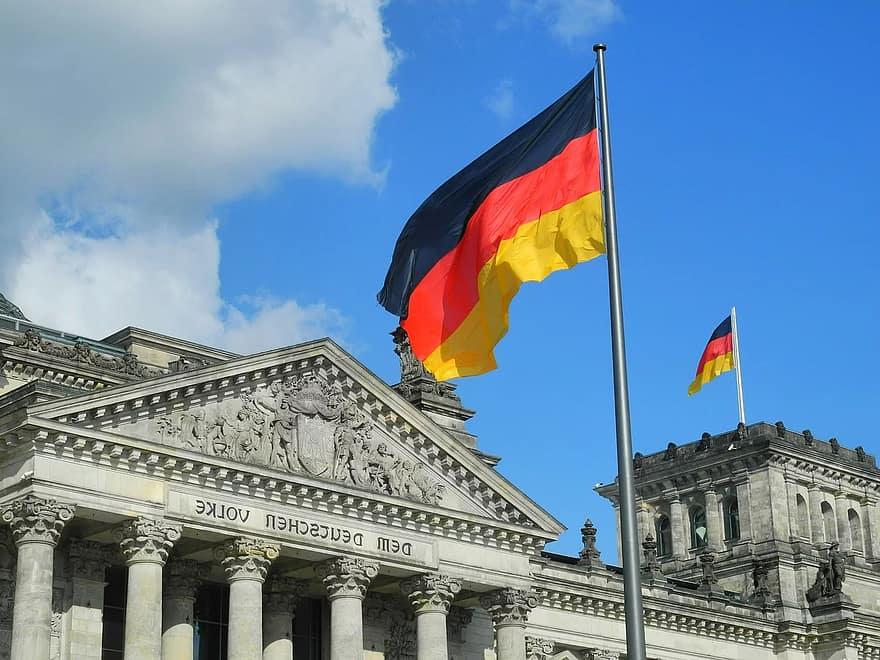 عللم الحكومة الالمانية