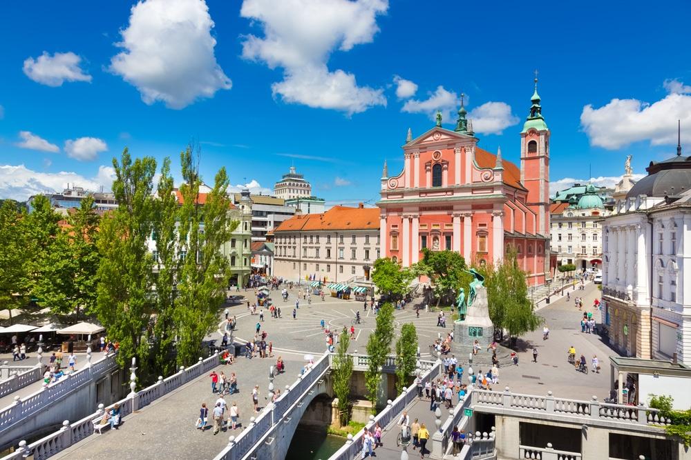 عاصمة سلوفينيا